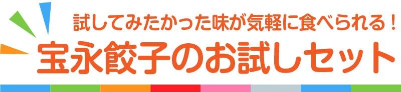 宝永餃子のおすすめ商品